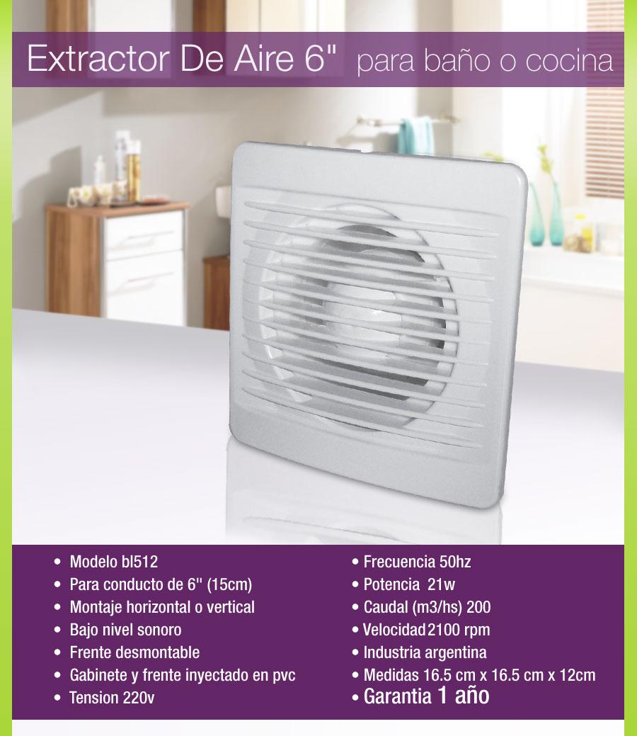 Extractores De Baño En Quilmes:Extractor De Aire Para Cocina